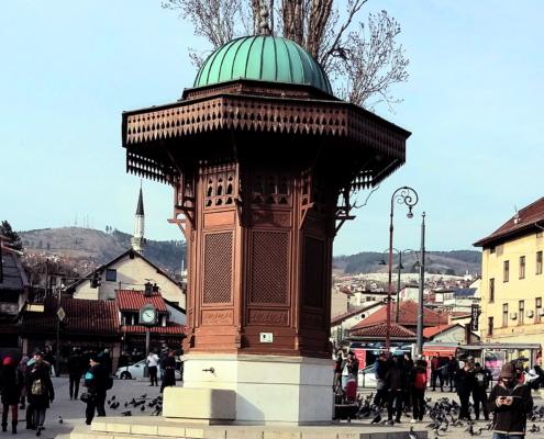 Sebilj-Brunnen-Sarajevo