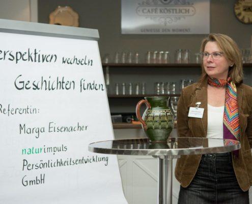 Literaturtraining-Marga Eisenacher-Autorenabend-Persönlichkeitsentwicklung-Perspektivenwechsel